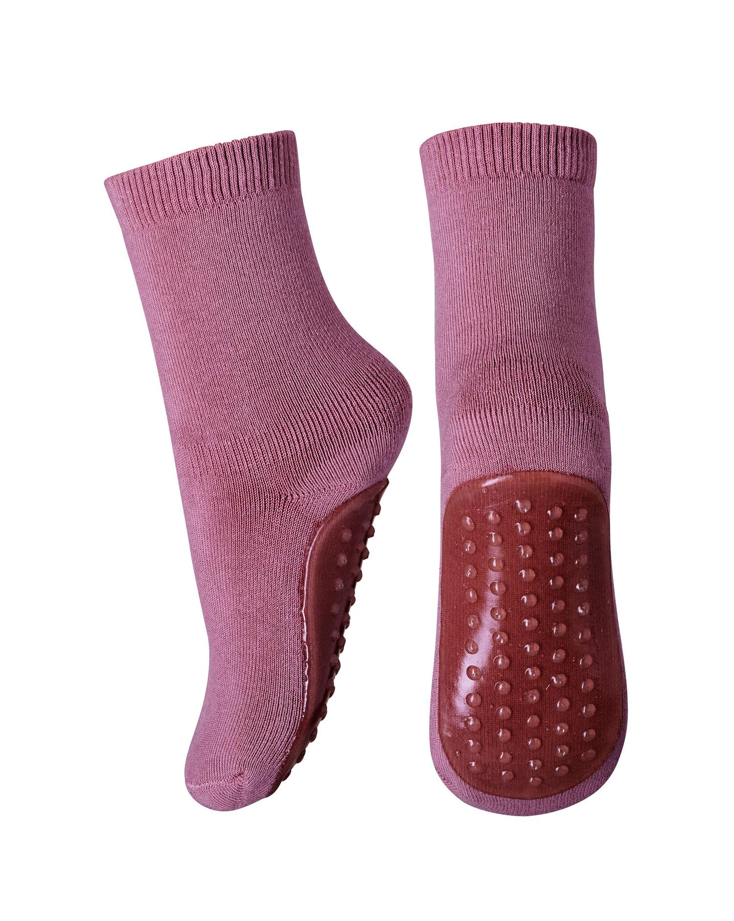 Mp Antiskli T 248 Fler Sokker Til Barn I Ull Lavendel