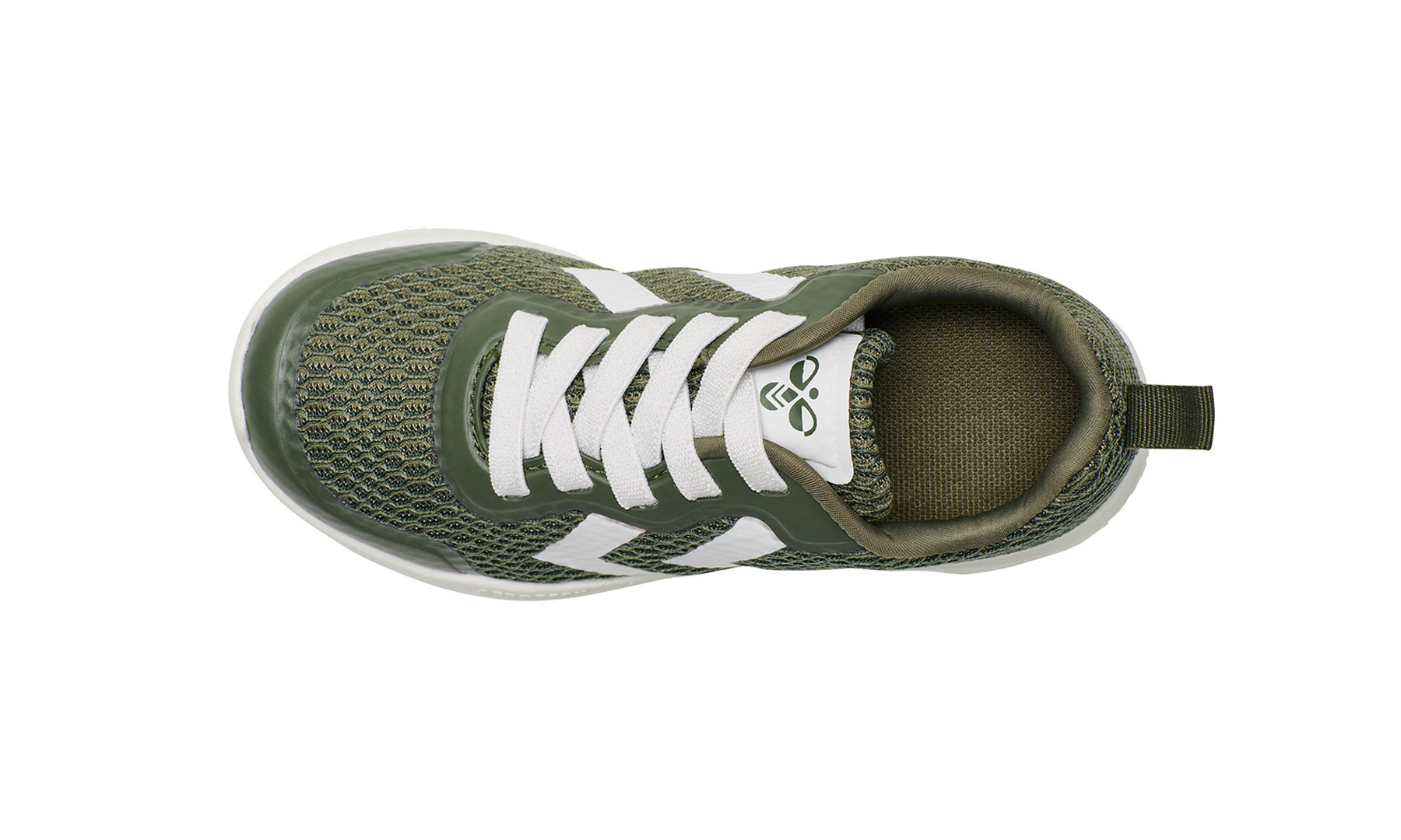 Hummel Actus joggesko til barn, grønne DressMyKid AS