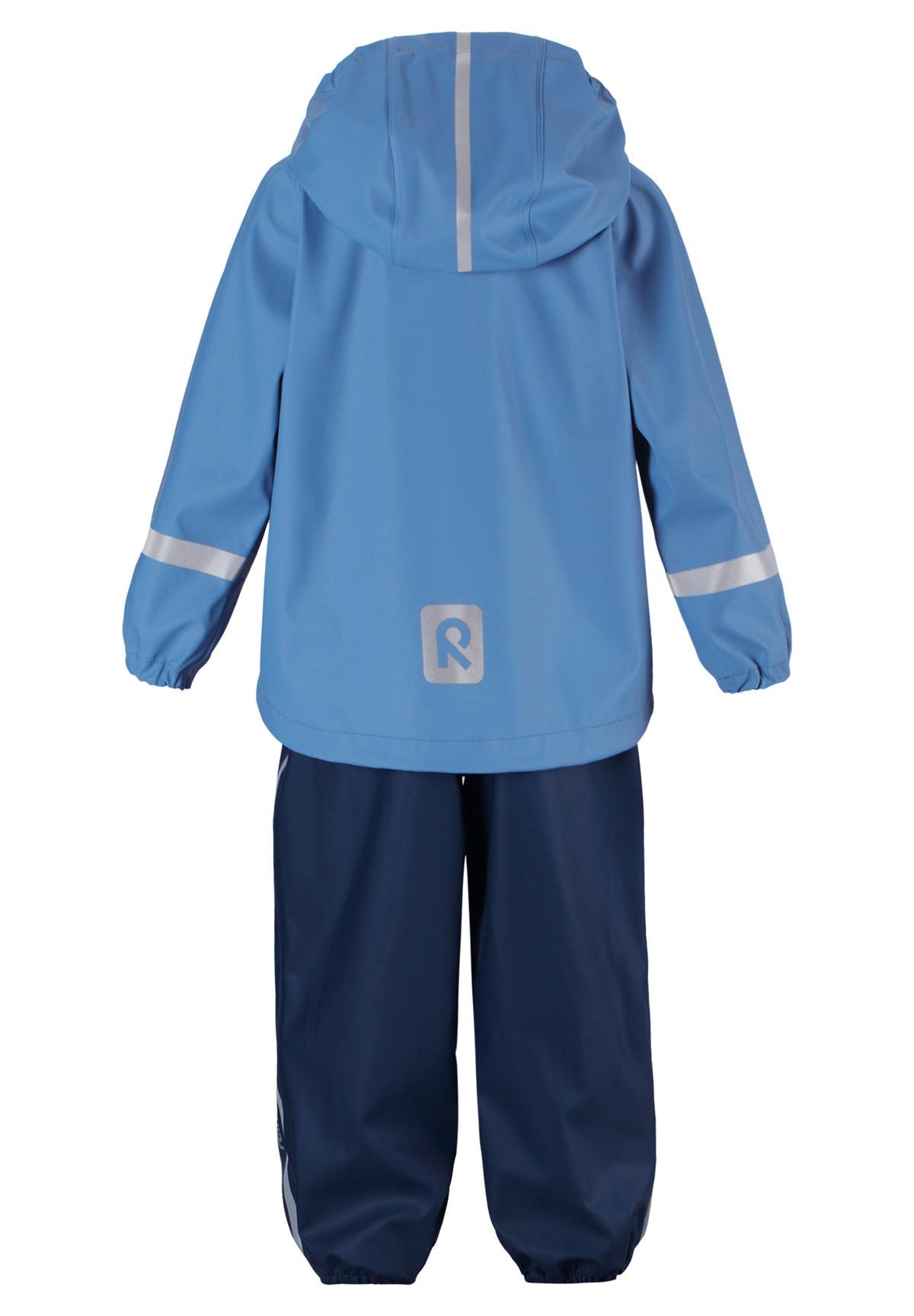 7b4fa14c Reima Tihku Regnsett til barn, denim blå - DressMyKid AS