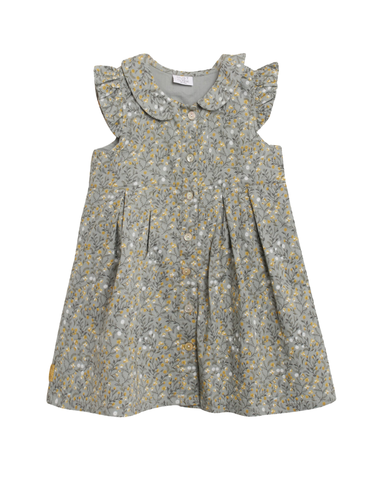 Hummel Milou bukse til små barn, olive night DressMyKid AS