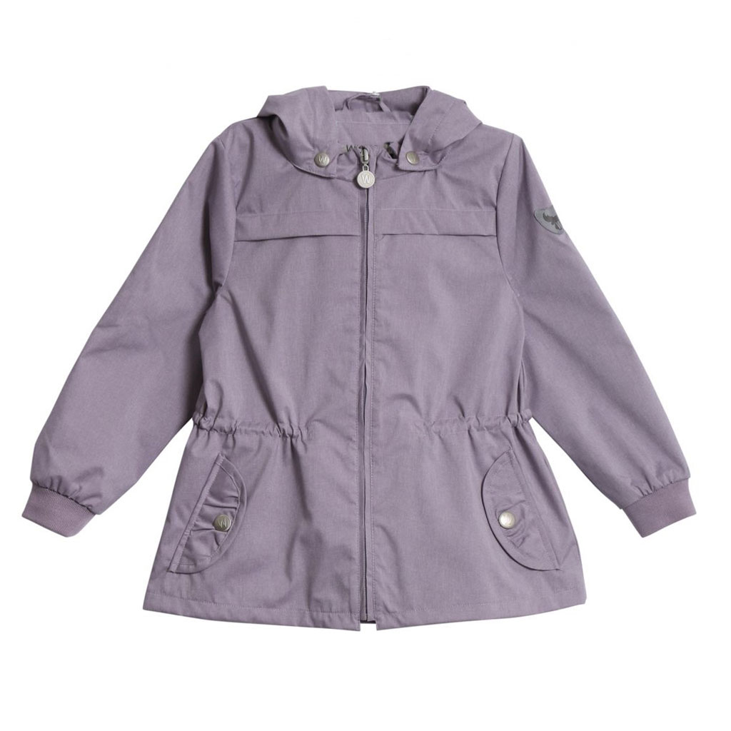 203e6308 Wheat Darlene windbreaker jakke til barn, lavendel - DressMyKid AS