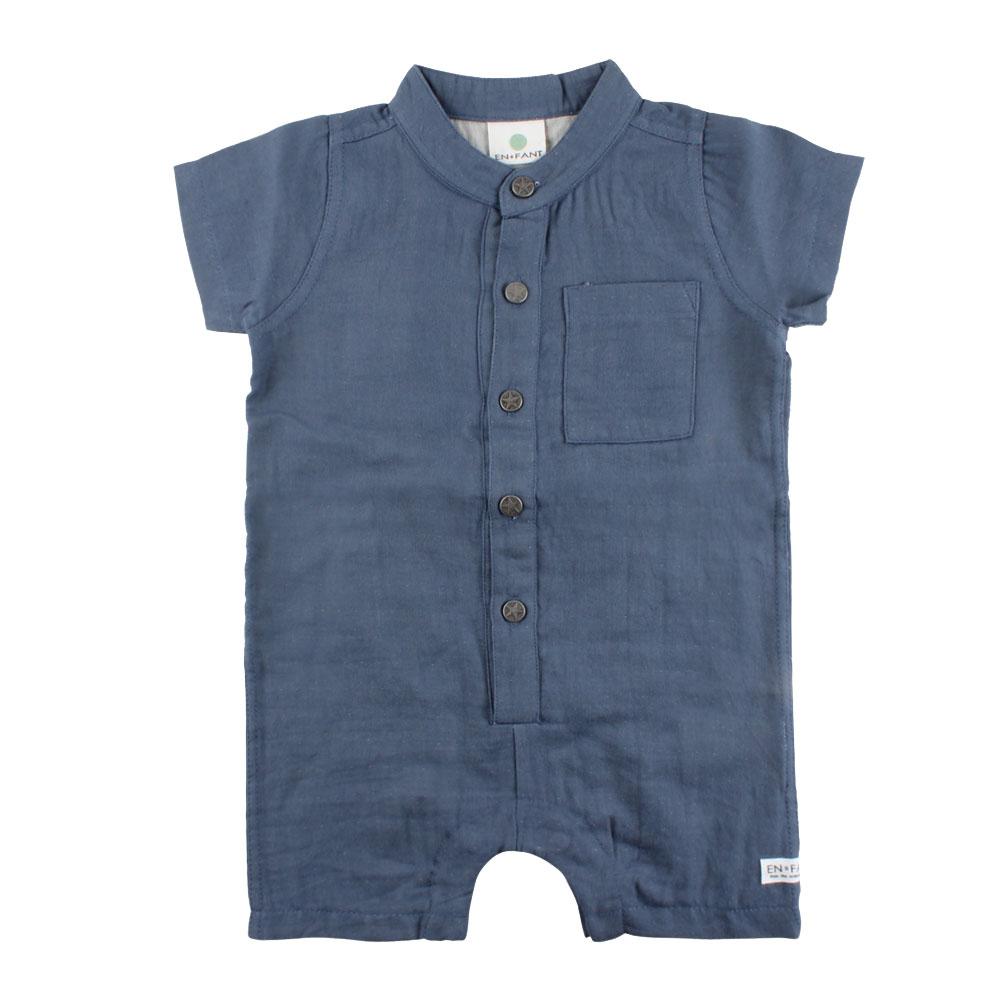 2750abea Noa Noa miniature strikket ullromper til baby, blå - DressMyKid AS