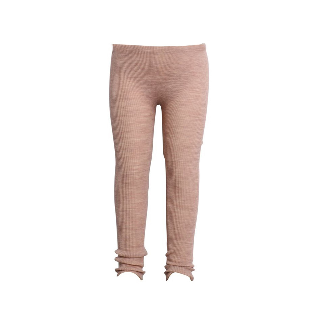 a78ee1d30 Wheat ribb leggings til baby i myk merinoull, rosa - DressMyKid AS