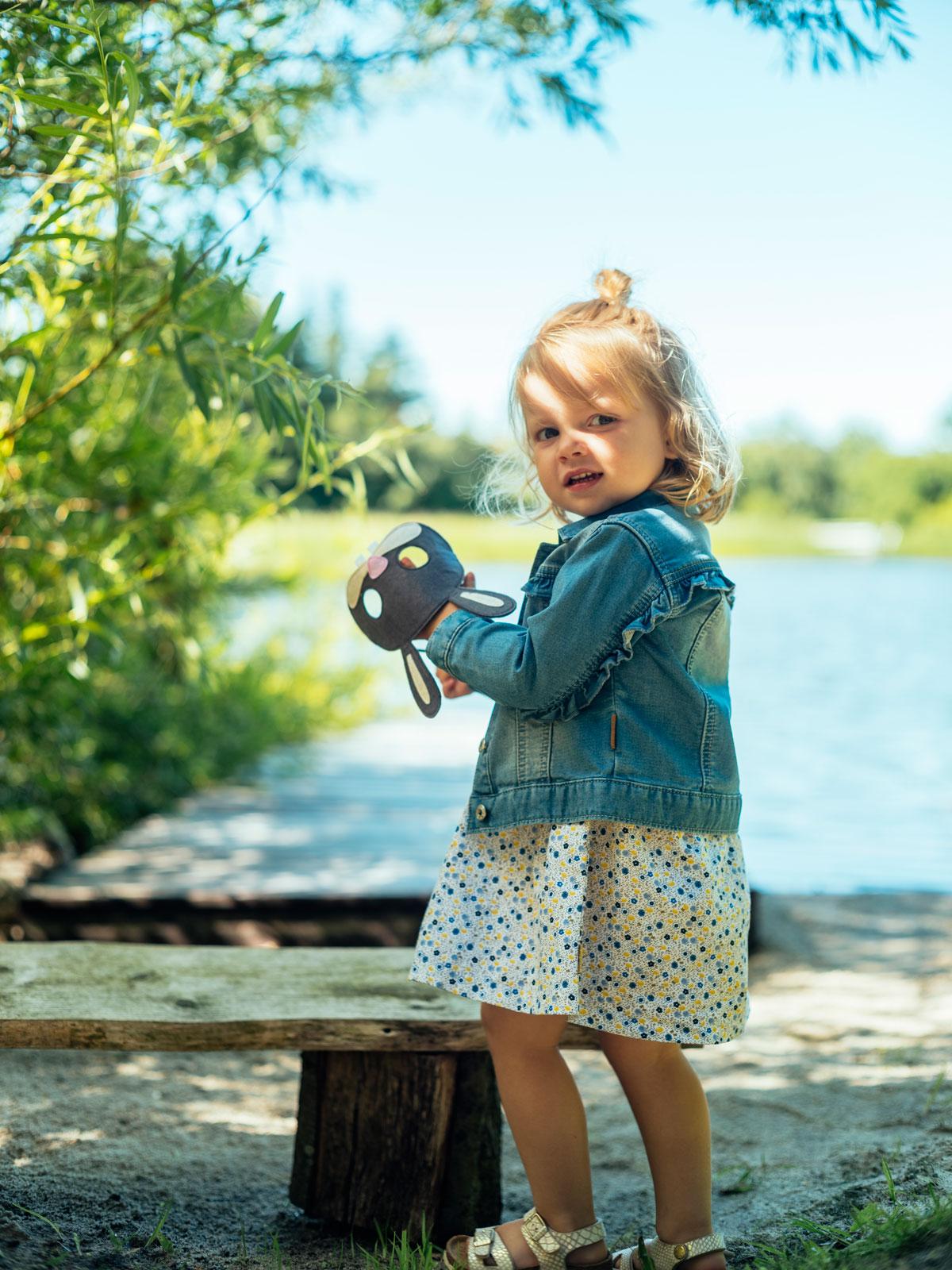 a478eec0 Hust & Claire olajakke med rysjer til barn - DressMyKid AS