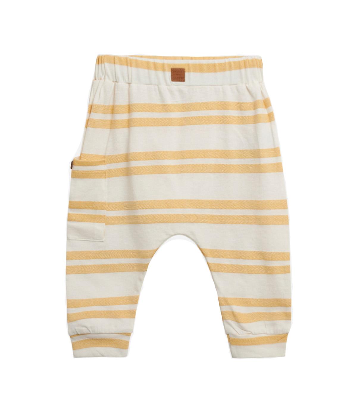 Hust & Claire Garon stripete bukse, oker DressMyKid AS