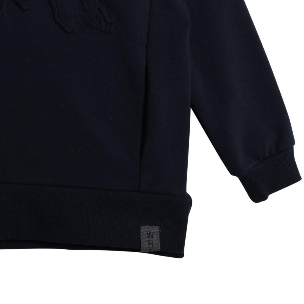 394e86e8 ... Wheat college genser med fjell, marineblå. Previous; Next