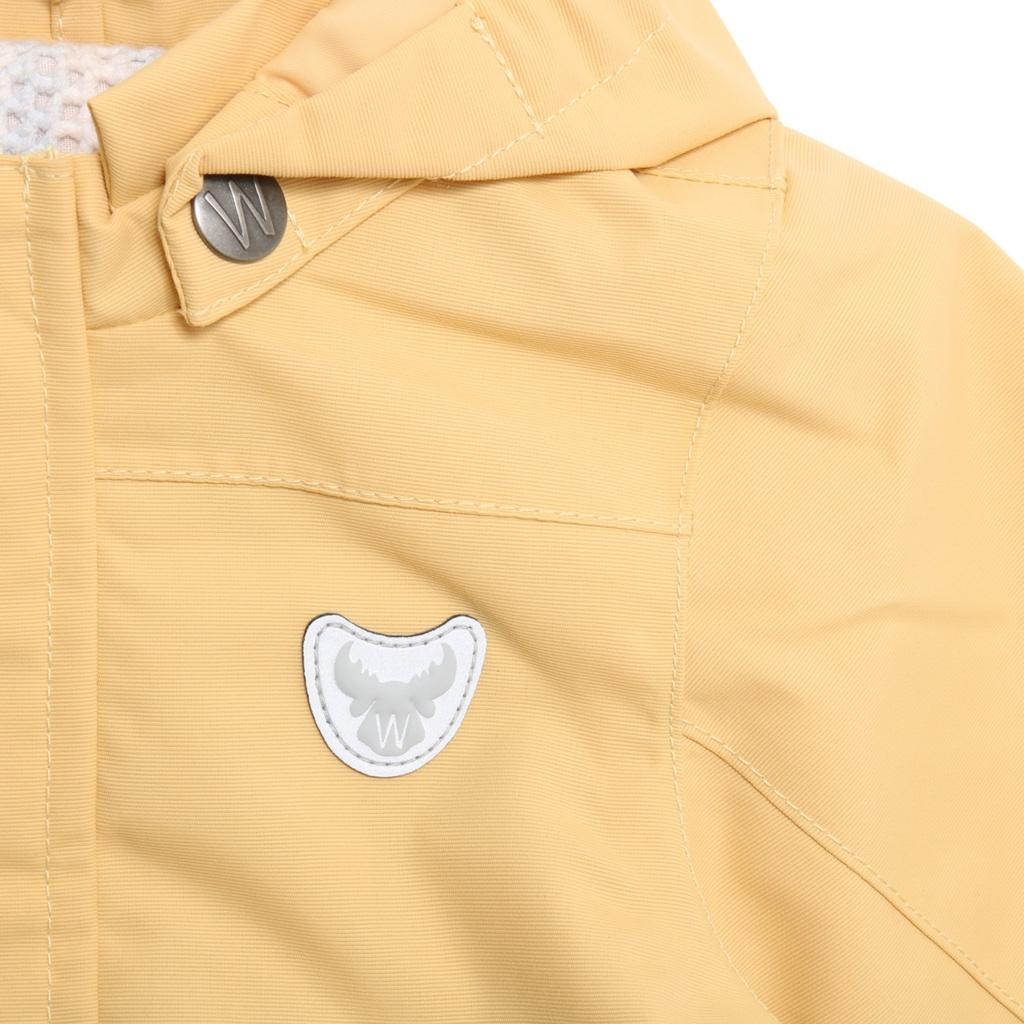 27dc59b6 Wheat Valter vårjakke til baby, gul - DressMyKid AS