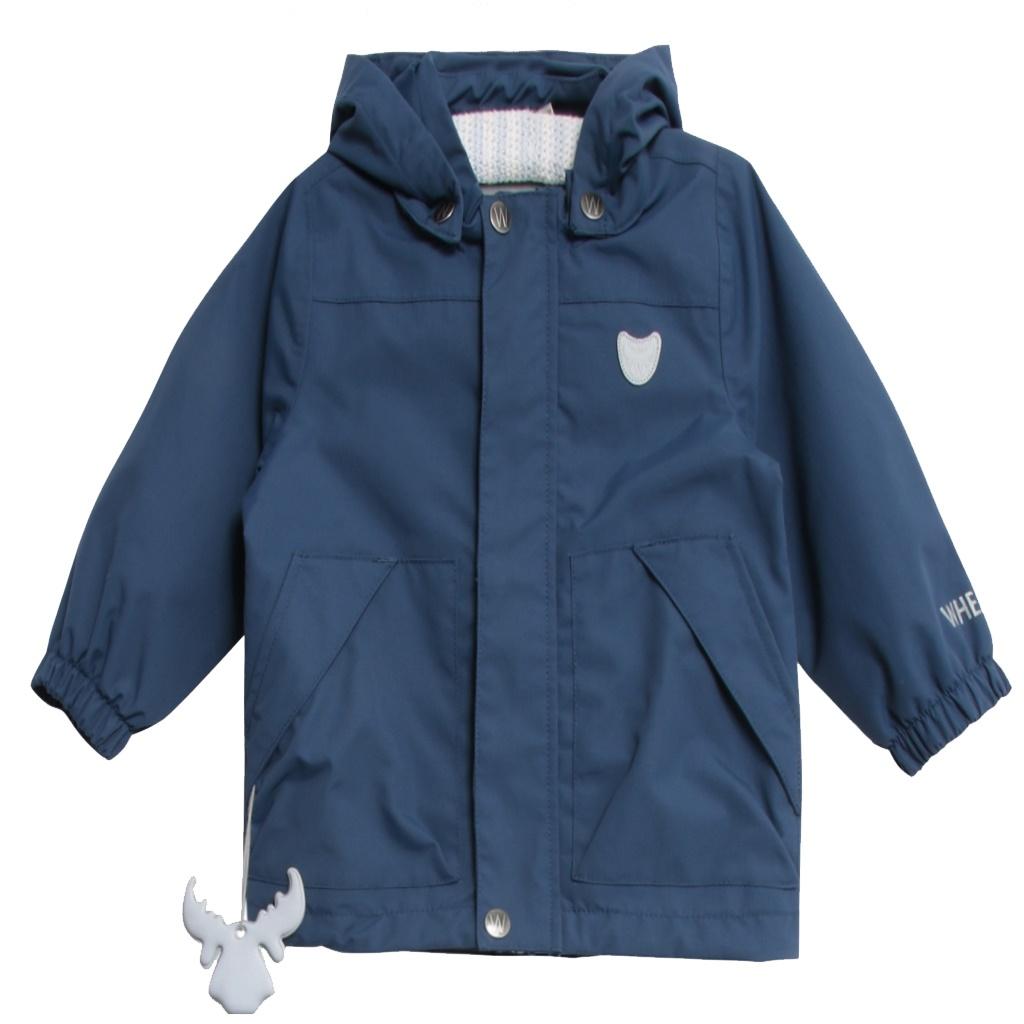 520891cb Wheat vårjakke til gutt i flott blåfarge - DressMyKid AS